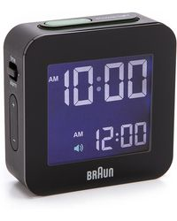 Braun - Digital Square Alarm Clock - Lyst