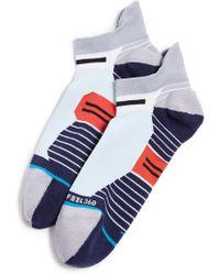 Stance - Run Lagoon Low Tab Socks - Lyst