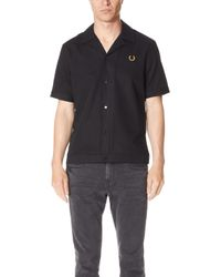 Fred Perry - Miles Kane Bowling Shirt - Lyst