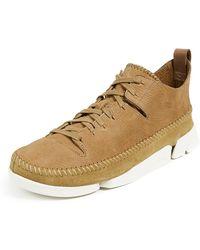 Clarks - Trigenic Flex Sneakers - Lyst