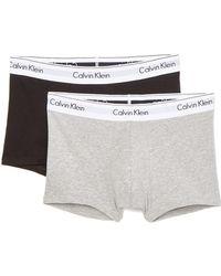 Calvin Klein - Modern Cotton Stretch 2 Pack Trunks - Lyst