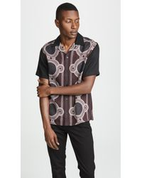Saturdays NYC - Canty Mosaic Short Sleeve Shirt - Lyst