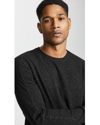 Club Monaco - Donegal Duofold Crew Neck Pullover - Lyst