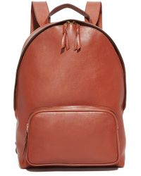 Lotuff Leather - Zipper Backpack - Lyst