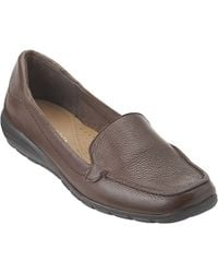 Easy Spirit - Abide Leather Casual Flats - Lyst