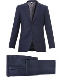 Burberry Twobutton Mohair and Woolblend Suit - Lyst