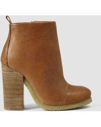 AllSaints Lakote Boot brown - Lyst