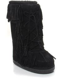 Aquazzura Boho Karlie Boot black - Lyst