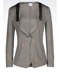 Armani   One Button Jacket   Lyst