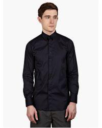 Matthew Miller Men'S Navy 'Newman' Shirt black - Lyst
