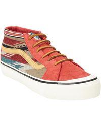 Vans Sk8-Mid Lx Sneaker red - Lyst