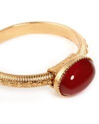 Ela Stone 'Simone' Oval Stone Ring - Lyst