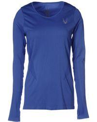 Lucas Hugh T-Shirt blue - Lyst