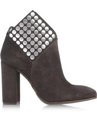 Pedro Garcia Brown Ankle Boots - Lyst