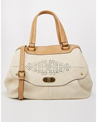 Nica - Shoulder Bag With Cutwork - Lyst