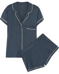 Calvin Klein - Structure Stretch-Jersey Pyjama Set - Lyst