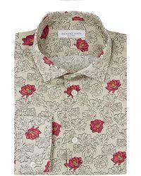 Richard James Desert Flower Print Shirt - Lyst