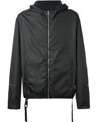 Balenciaga Hooded Jacket - Lyst