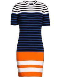T By Alexander Wang Short Dress - Lyst