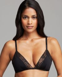 Calvin Klein Bra Modern Signature Wireless Unlined Triangle - Lyst