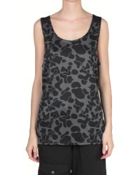 Puma Printed Top - Lyst