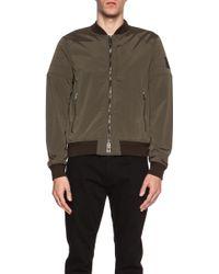 Belstaff Men'S Stockdale Matte Nylon-Blend Bomber Jacket - Lyst