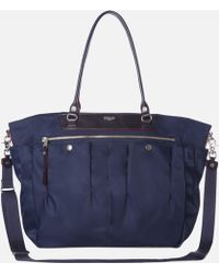 MZ Wallace Food52 Market Tote Navy Bedford - Lyst