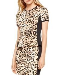 Vince Camuto - Leopard Print Tee - Lyst