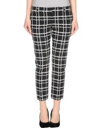 DSquared² 3/4-Length Trousers black - Lyst