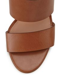 Vc Signature - Debbey Double-Band Leather City Sandal - Lyst