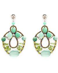 Ziio - Murano Glass Bead Earrings - Lyst