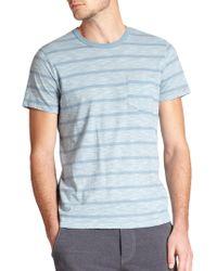 Splendid Mills Striped Jersey T-Shirt - Lyst