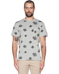Obey Roses Pocket Tee - Lyst