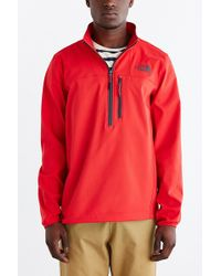 The North Face Nimble Half-Zip Jacket red - Lyst
