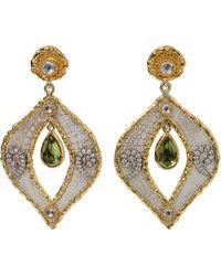 Victor Velyan - Diamond And Sapphire Drop Attachment - Lyst