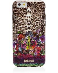Just Cavalli - Iphone 6 Case - Leo Tiger Garden - Lyst