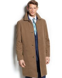 London Fog Coat Durham Raincoat - Lyst