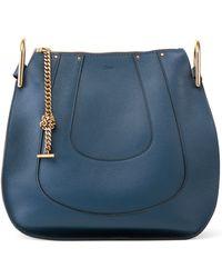 cheap chloe handbags - hayley hobo in perforated smooth calfskin