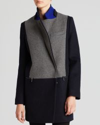 Dawn Levy Dl2 By Coat - Lila Color Block - Lyst