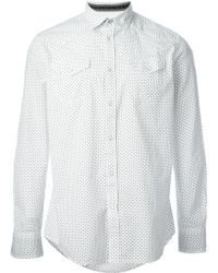 Diesel White S-ulfur Shirt - Lyst