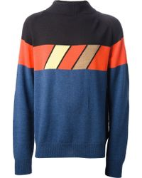 Aimo Richly - Block Colour Sweater - Lyst