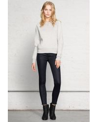 Rag & Bone Exposed Zipper Capri - Lyst