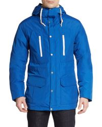 Gant Rugger Hooded Parka - Lyst