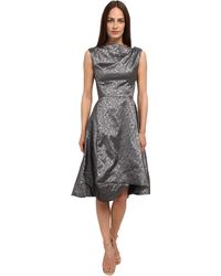 Vivienne Westwood Anglomania Gray Aztec Dress - Lyst