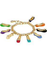 Sam Edelman Charming Bracelet - Lyst