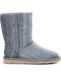 ugg classic short denim boots