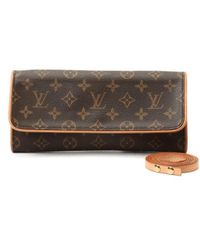 Louis Vuitton Pre-owned Pochette Twin Gm - Lyst