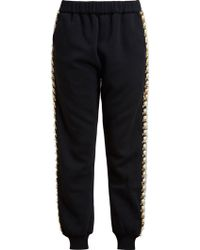 Ashish B Jewelled Sweatpants - Lyst