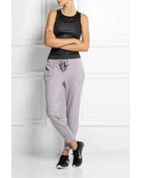Adidas By Stella Mccartney Essentials Cottonblend Jersey Track Pants - Lyst