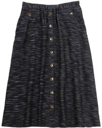 Pendleton, The Portland Collection Navy Mckenzie Skirt black - Lyst